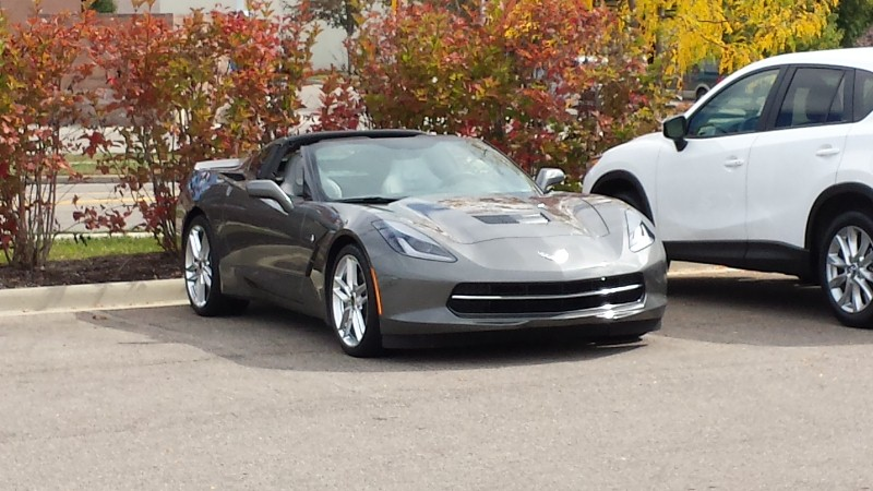 Mike Mercury 2015 Corvette